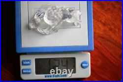 A021 Antique Estate Chinese ROCK CRYSTAL CARVING Early 20th Century