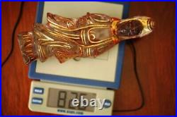 A103 CHINESE CARVED ROCK CRYSTAL FIGURE OF GUANYIN Late 19th Century
