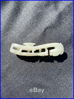 Carved Nephrite Jade Dragon Belt Hook circa 1880 to 1900
