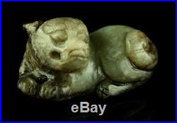Ming Dynasty Mythical Beast Foo Dog Carving