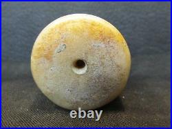 S38 Vintage Carved White Jade Dragon Pendant Necklace Brooch Jewelry Cylinder