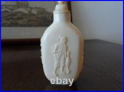 Th19 Superb Carved Chinese Japanese Okimono Antique Snuff Bottle Signed