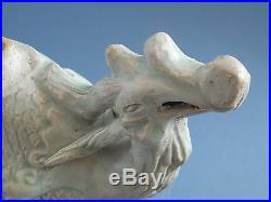 Yuan Dynasty Hu Tian Yao Ying Qing Carved Bird shaped pot